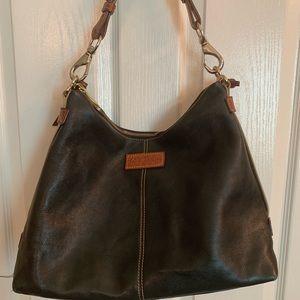 Dooney & Bourke black leather hobo